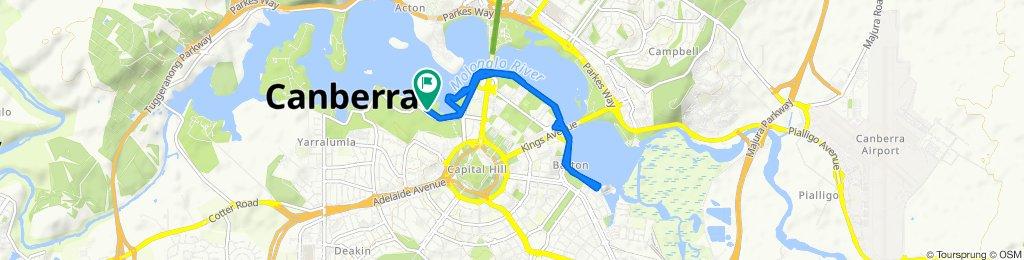 Mariner Place, Yarralumla to Mariner Place, Yarralumla