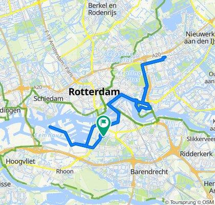Lepelaarsingel 122C, Rotterdam do Lepelaarsingel 120A, Rotterdam