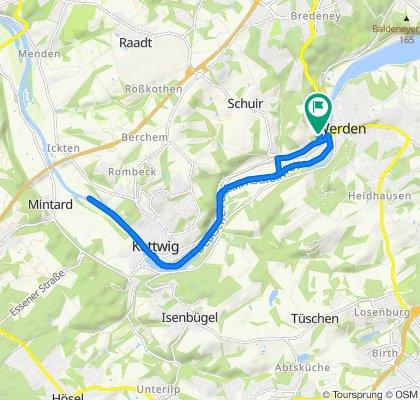 Tiergarten 32, Essen to Tiergarten 32, Essen