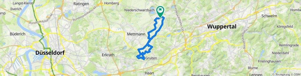 Sonntags MTB Route