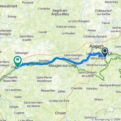 Etape 5 Juigne sur Loire - Champtoceaux