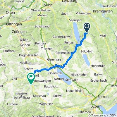 Königsberg 4, Bettwil to Steinmatt 1, Willisau