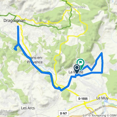 Itinéraire confortable en La Motte