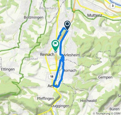 Entspannende Route in Münchenstein