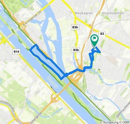 Easy ride in Vienna