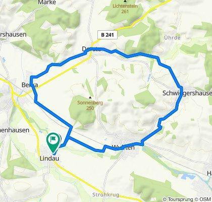 Relaxed route in Katlenburg-Lindau