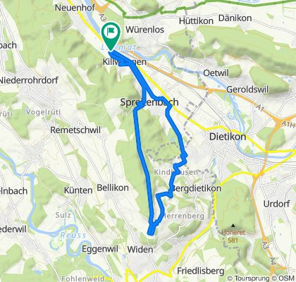 Da Brühlstrasse 39, Killwangen a Brühlstrasse 39, Killwangen