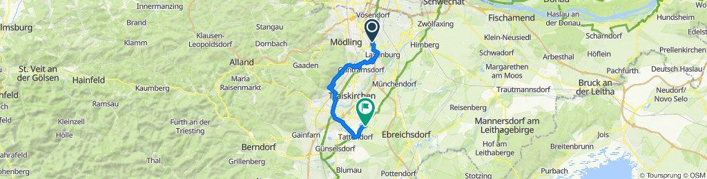 Biedermannsdorf nach Oberwaltersdorf
