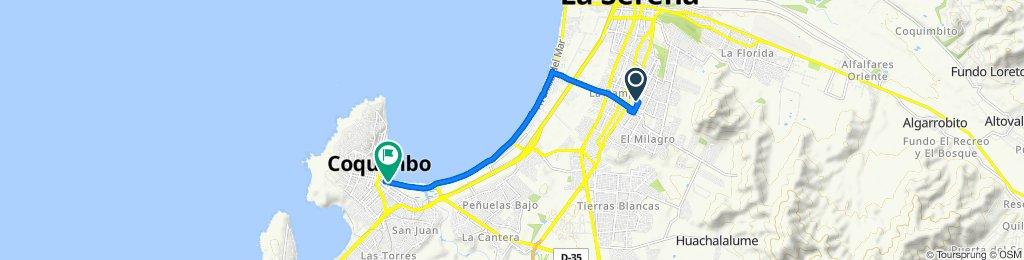 De Onofre Jarpa 2100, La Serena a Vergara 97, Coquimbo