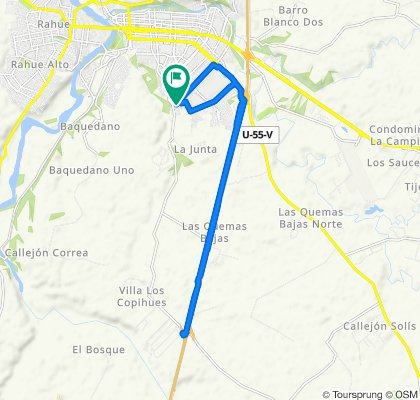 Paseo rápido en Osorno