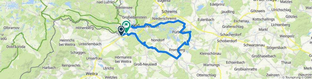 Schlößlgasse 5, Ehrendorf to Schubertplatz 18a, Gmünd