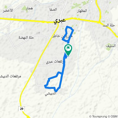 Unnamed Road, ولاية عبري to Unnamed Road, ولاية عبري