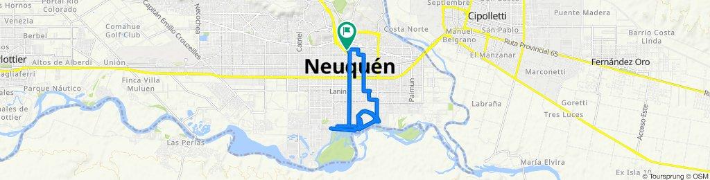 Paseo lento en Neuquén
