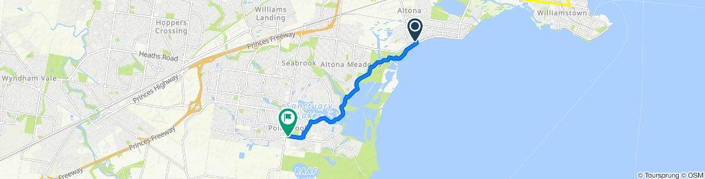 237 Queen Street, Altona to 1 Saltwater Promenade, Point Cook