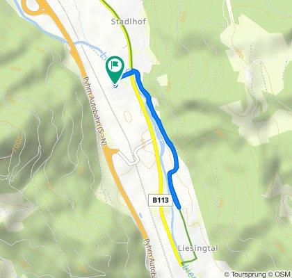 Entspannende Route in Stadlhof