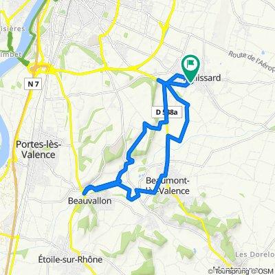 Itinéraire facile en Malissard