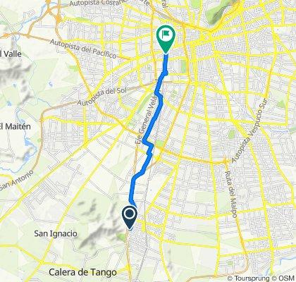De Costanera 846, San Bernardo a Exposición 240, Santiago
