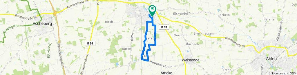 Blumenstraße 4, Drensteinfurt to Blumenstraße 4, Drensteinfurt
