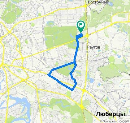 Весенние мокрые велоездки постснежные Рязанка - Выхино 16 03 2020