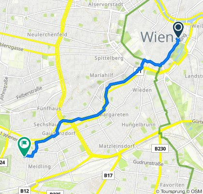 Easy ride in Vienna
