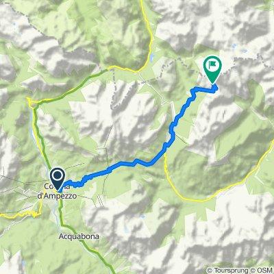 Cortina d ´Ampezzo - Tre Cime di Laveredo