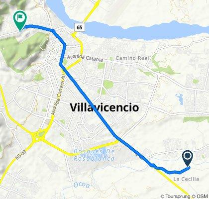 Paseo rápido en Villavicencio
