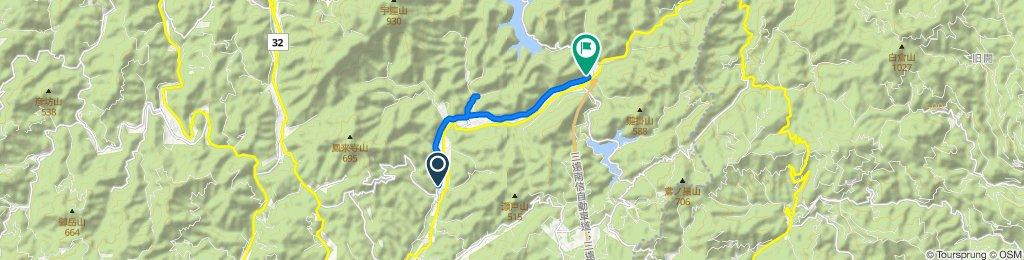 絶景! 板敷川と飯田線 望月街道コース