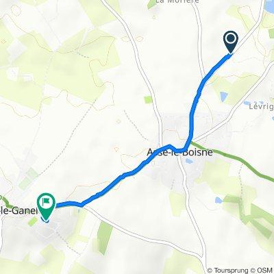 Itinéraire modéré en Sougé-le-Ganelon