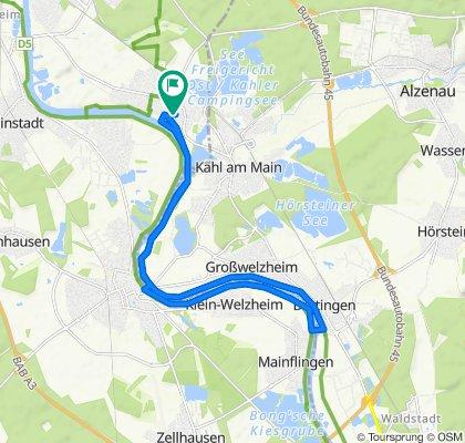 Hölderlinstraße 2, Großkrotzenburg to Hölderlinstraße 2, Großkrotzenburg