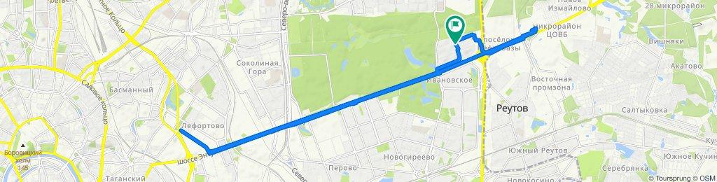 Велоездки весенние Балашиха - Лефортово 17 03 2020