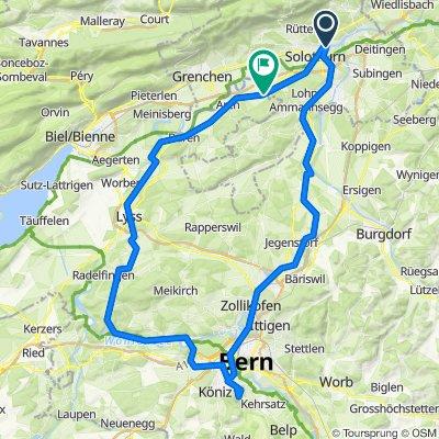 Bern - Gurten - Wohlen - Busswil - Büren an der Aare