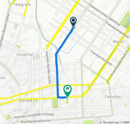 De Avenida Marquês de Herval 05 a Avenida Gov Magalhães Barata 826