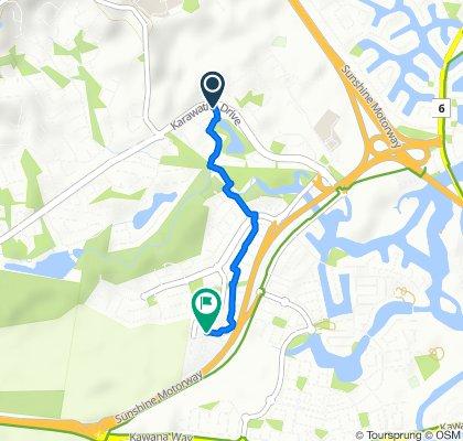 Easy ride in Mountain Creek