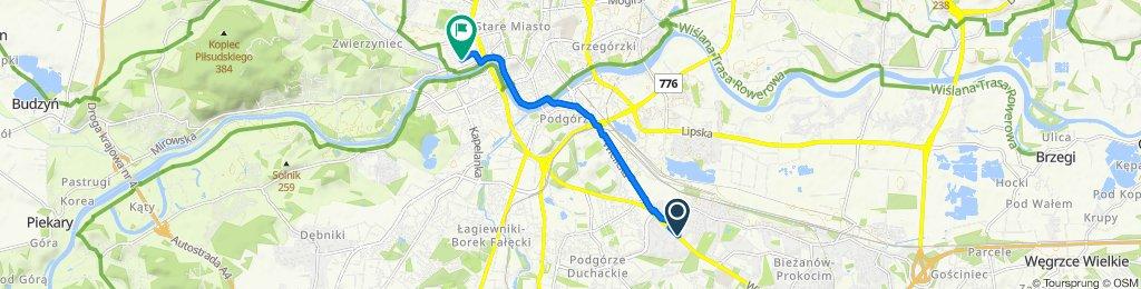 Łatwa trasa w Kraków