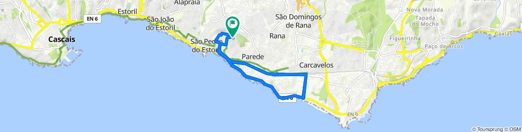 Restful route in Parede