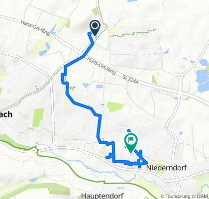 Gemütliche Route in Herzogenaurach