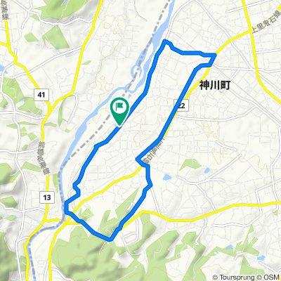 89 神川健康緑道周遊ルート