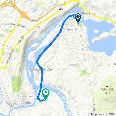 turners bike path