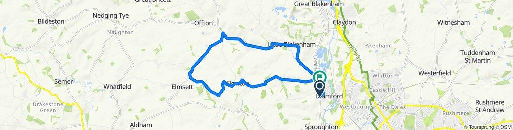 23 Gippingstone Road, Ipswich to 7 Bullen Lane, Ipswich