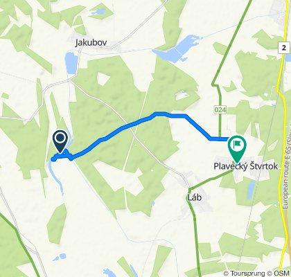 Unnamed Road, Plavecký Štvrtok do Plavecký Štvrtok