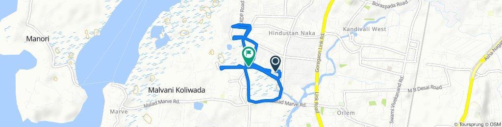 Easy ride in Mumbai