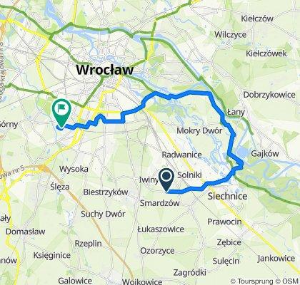 Wschodnia Obwodnica Wrocławia, Święta Katarzyna to Wietrzna 46a, Wrocław