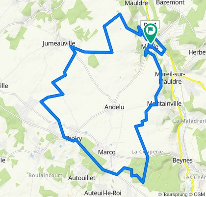 2020.03.18 Rochrider 32 kms (Champs)