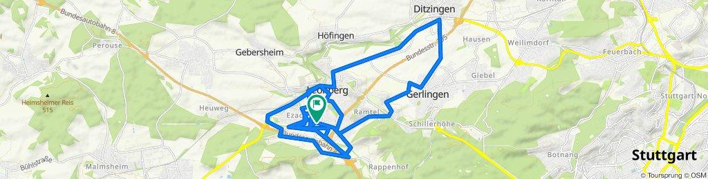 Powolna trasa w Leonberg