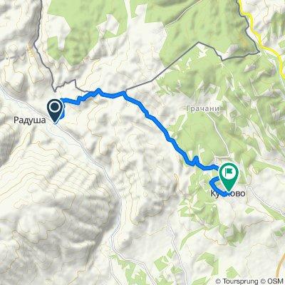 Radusa Kuckovo 12 km 450 ugore