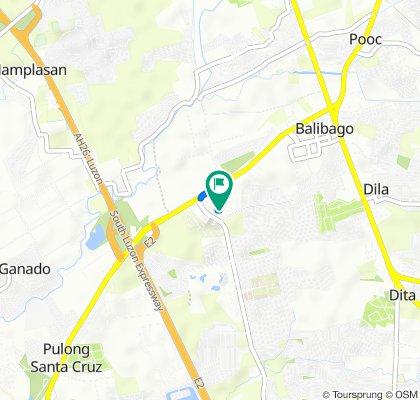 San Lorenzo Road, Santa Rosa to San Lorenzo Road, Santa Rosa