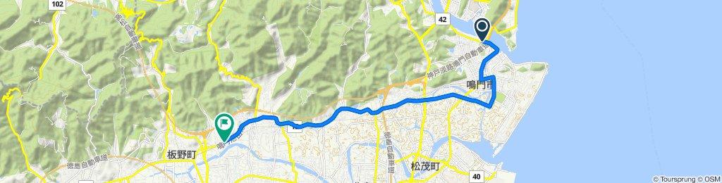 トライアングルコース(山)鳴門市