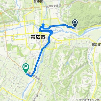 一般道道十勝川温泉帯広自転車道線(十勝大平原自転車道)