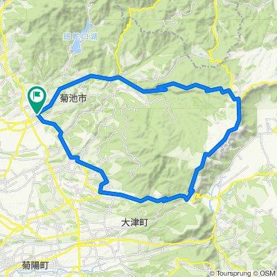 阿蘇・菊池渓谷コース