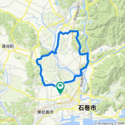 かなん・ものうサイクリングコース(河南中央公園・桃生・河北周回コース)
